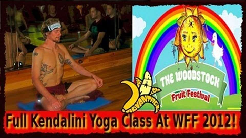Full Kendalini Yoga Class, The Woodstock Fruit Festival 2012!