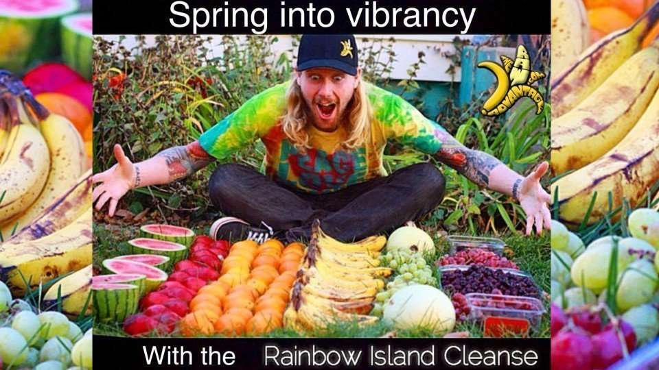 Spring into vibrancy with the Rainbow Island Cleanse