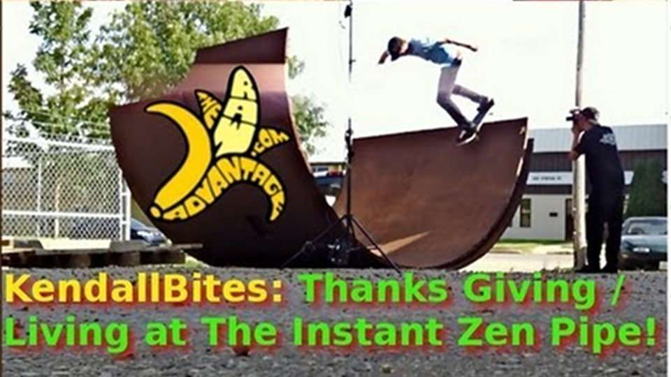 Thanks Giving/Living at The Instant Zen Pipe and My Food Demo!
