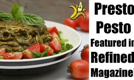 Presto Pesto Recipe Featured In Refined Magazine!