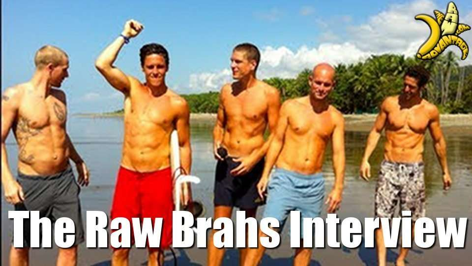 TRA Interviews The Raw Brahs at The Woodstock Fruit Festival!