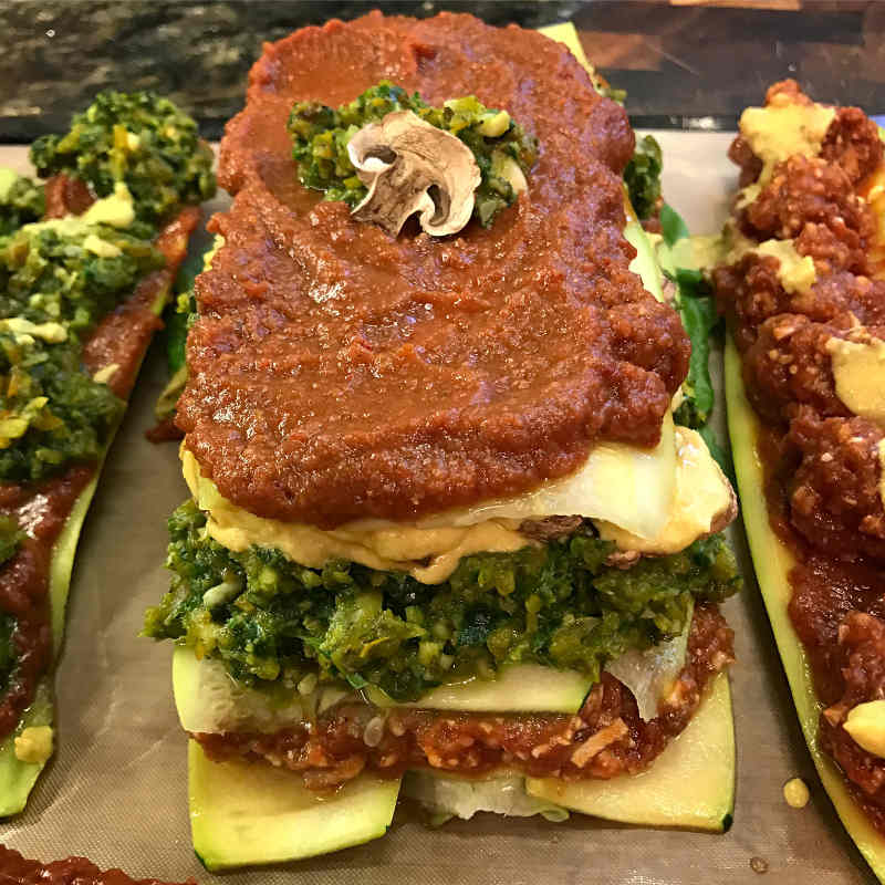raw vegan lasagna chris kendall the raw advantage