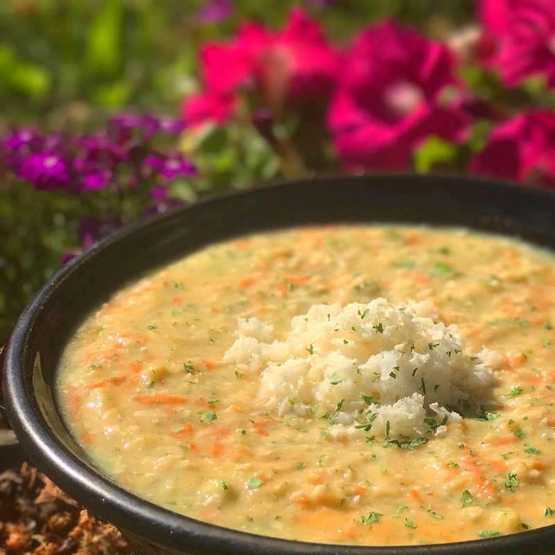 raw vegan lemon rice soup chris kendall the raw advantage
