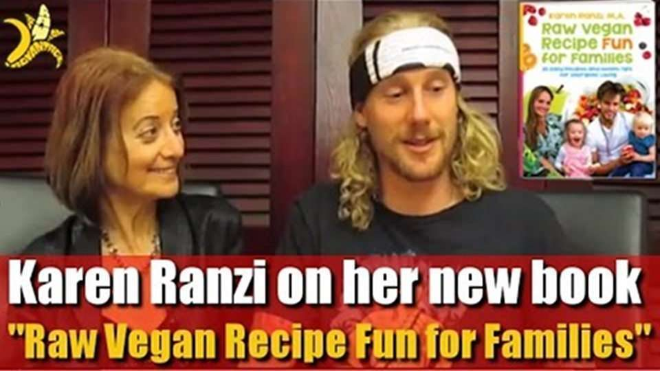"Karen Ranzi on her ""Raw Vegan Recipe Fun for Families"""