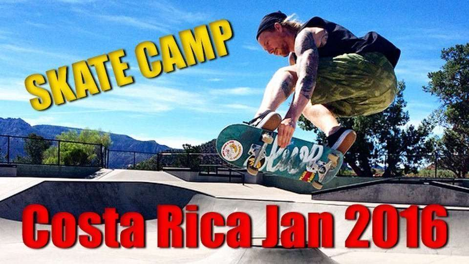 2016 Skate Camp Announced!