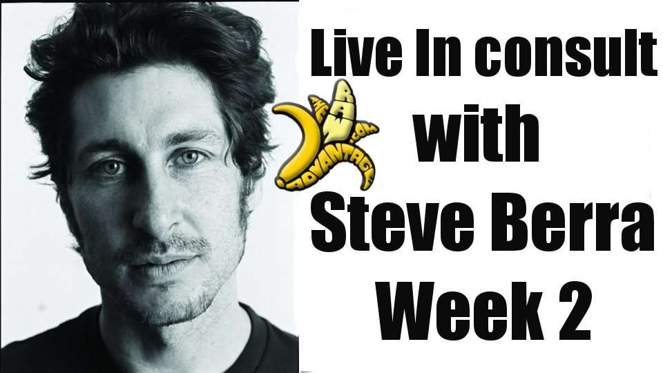 Live in with Steve Berra Week 2!