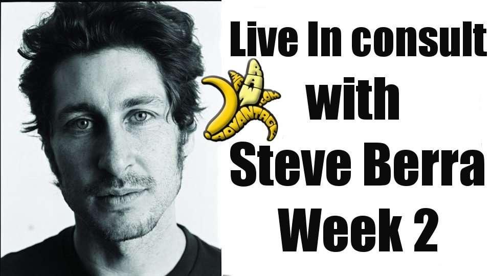 Live in with Steve Berra Week 2!