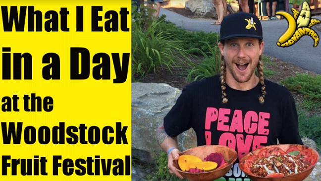 What I Eat in a Day – Woodstock Fruit Festival Edition