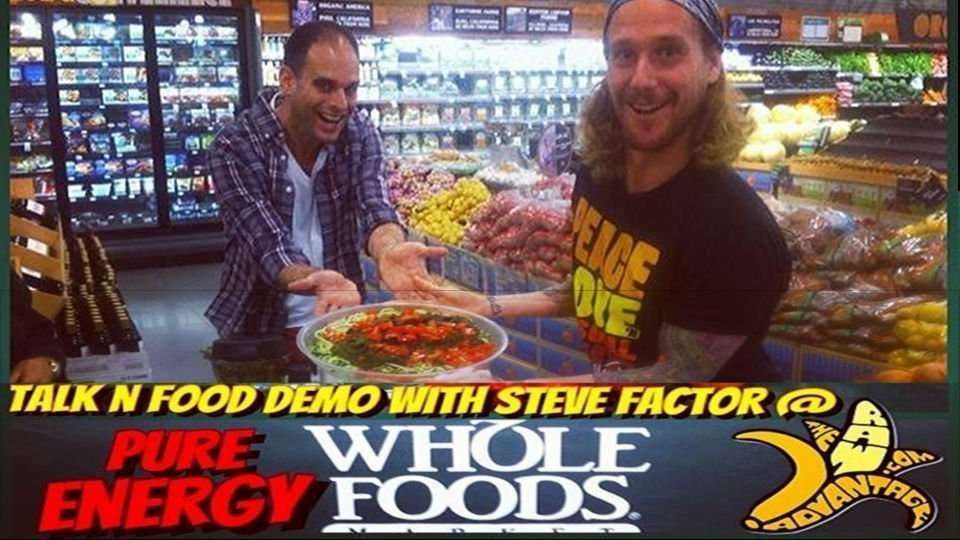 Talk & Food Demo with Steve Factor at Whole Foods