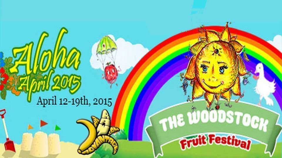 Woodstock Fruit Festival Hawaii Banana Commander Vision!