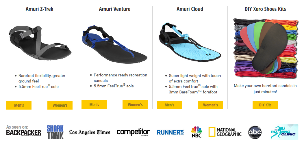 xero-sandals